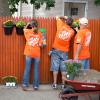 Team Depot volunteer planting