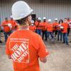 home depot volunteers in houston