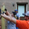 Volunteers from Team Depot and The Mission Continues