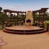 Deck made out of Trex materials