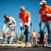 Home Depot CEO volunteering for Veterans Day