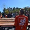 Home Depot volunteers