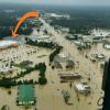 Flooded Denham Springs community
