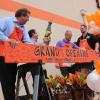 Board-cutting ceremony and grand-reopening