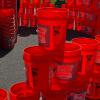 Homer buckets for disaster relief