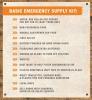 Basic Emergency Supply Kit