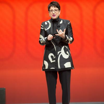 Carol Tomé Speaking at Store Managers Meeting 2014